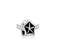 Antiqued Starfish Bead