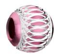 Pink Aluminum Bead