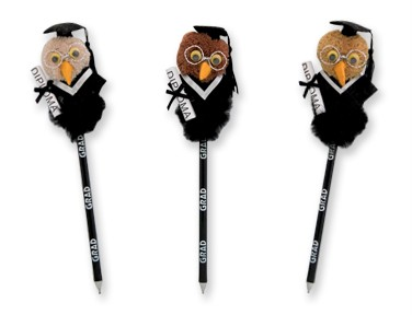 GRADUATION OWL PEN