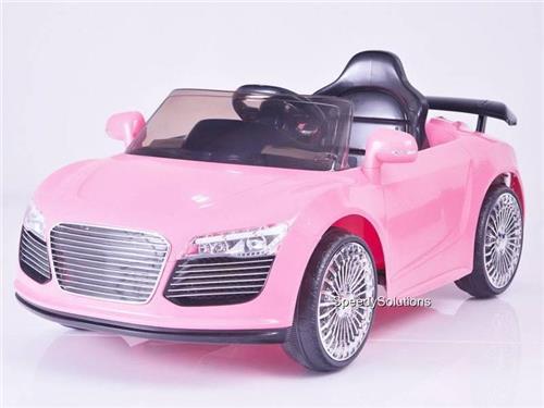 Kids 12v R8 Audi Style Remote Control Power Ride On Wheels Car
