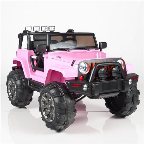 Jeeps For Sale In Va >> Kids 12v Power PINK Jeep Style Car Parental R/C Remote ...