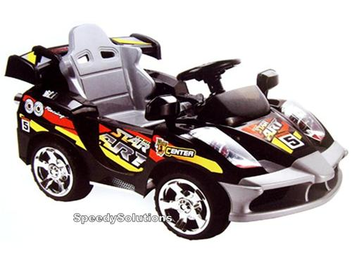 kids ride on radio remote control race car 6 volt power racing wheels