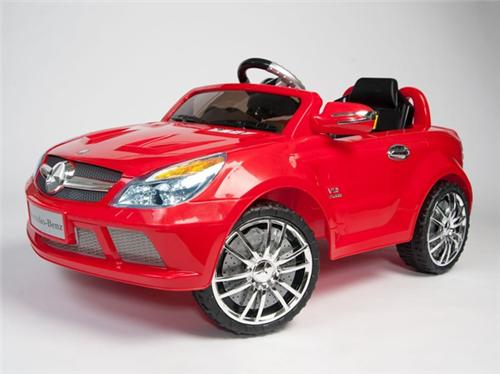 mercedes benz power ride on sl65 amg kids remote control