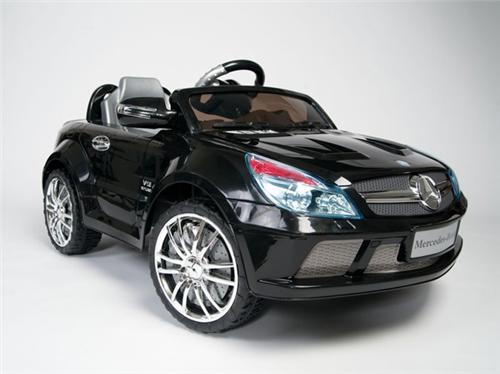 Licensed Ride On R/C Mercedes Benz Power SL65 AMG Kids Car Wheels BK