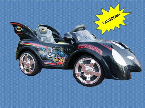 Licensed 12V Batmobile Ride On Batman Car w/ Remote Control