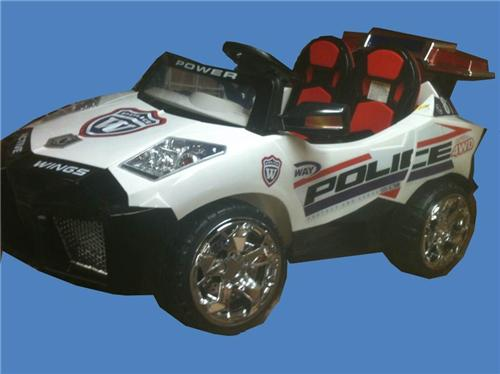 2 Seat Power Police Lambo Style Kids Ride On Remote