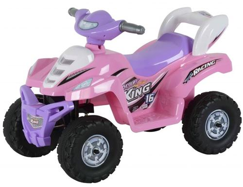 Kids 6v Electric Ride On Power ATV Toy Quad Toddler Wheels