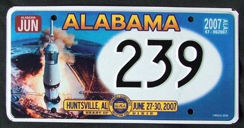 Alabama Souvenir 239 '07
