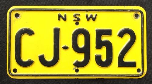 NSW M-C CJ-952