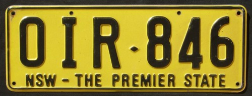 Nsw Number Plate Auto Cars