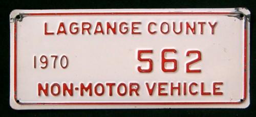 Indiana 1970 non motor vehicle lagrange county 562 for Iowa motor vehicle laws