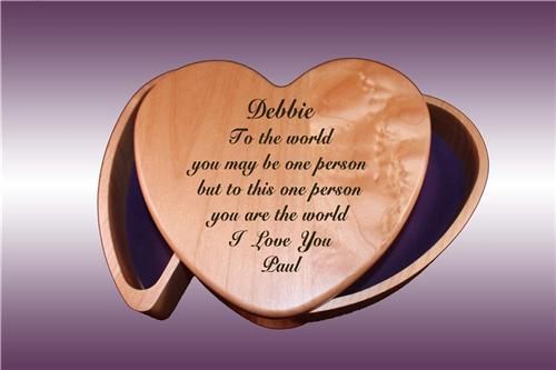 Heart Shaped Wooden Jewelry Box Plans DIY Free Download Diy Cedar