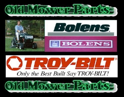 Old Bolens Parts Lookup : Bolens mower blade lawn keeper inch