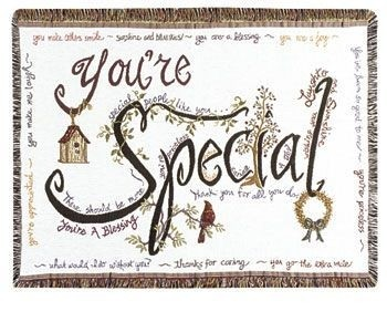 You're Special Gift To Remember Tapestry Throw Size 40x50 - Treasured Memories, Unltd