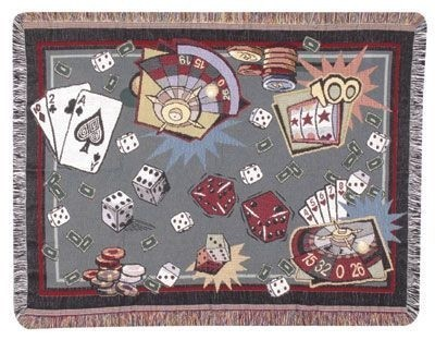 Roll Of The Dice Gift To Remember Tapestry Throw Size 40x50 - Treasured Memories, Unltd