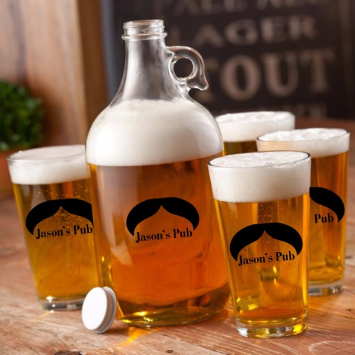 personalized-printed-mr-big-mustache-growler-set-1