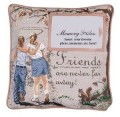 Friends Memory Inspirational Decorative Tapestry Pillow