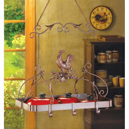 COUNTRY ROOSTER KITCHEN RACK (1)
