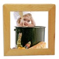 Wood Photo Napkin Holder