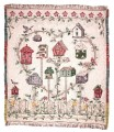 Bird Haven ECO2Cotton Tapestry Throw