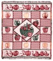 An Apple A Day ECO2Cotton Tapestry Throw