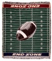 End Zone ECO2Cotton Tapestry Throw