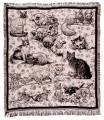 Cat Craze ECO2Cotton Tapestry Throw