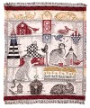Feline Cat Friends ECO2Cotton Tapestry Throw
