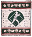 Batter Up ECO2Cotton Tapestry Throw