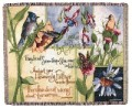 Birds Of The Air Tapestry Throw Size 60x50
