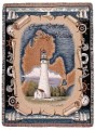 Fort Gratiot Michigan Lighthouse Tapestry Throw
