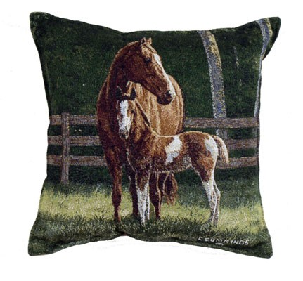 Decorative Western Throw Pillows : Josie Western Decorative Tapestry Pillow - iMallShoppe.com