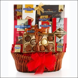 Buy chocolate gift baskets - Sweet Expressions Chocolate! Gift Basket