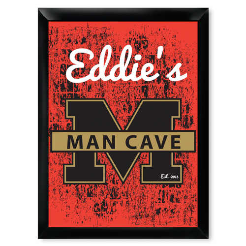 Wooden Man Cave Signs Australia : Personalized stadium man cave pub sign imallshoppe
