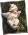 Personalized Baby Picture Weave Afghan Blanket Size 60x50