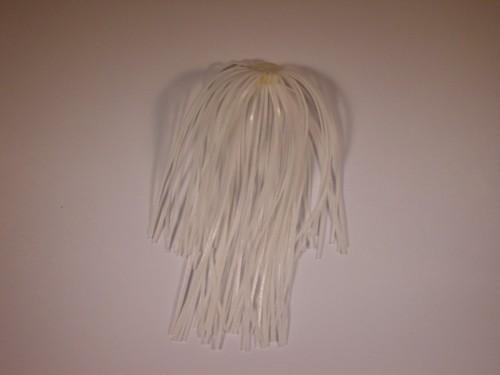 White Spinnerbait Replacement Skirt