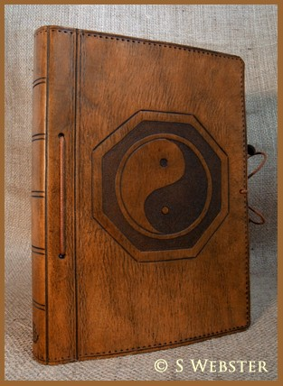 A5 Tai Chi Leather Journal with Removable Pages