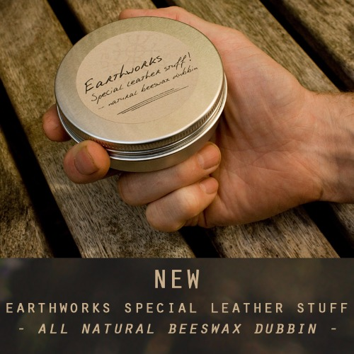 Earthworks Special Stuff Beeswax Dubbin - Earthworks Journals