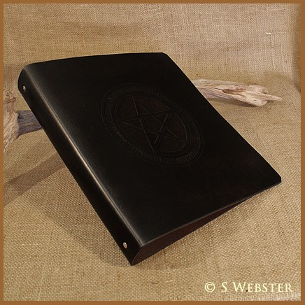 A4 BLACK  PENTAGRAM BINDER