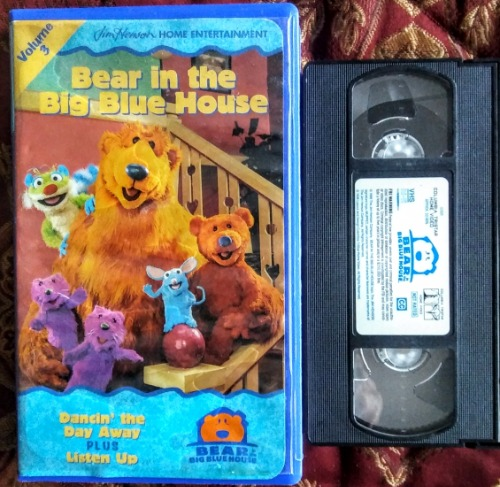 Bear In The Big Blue House Volume 3 VHS