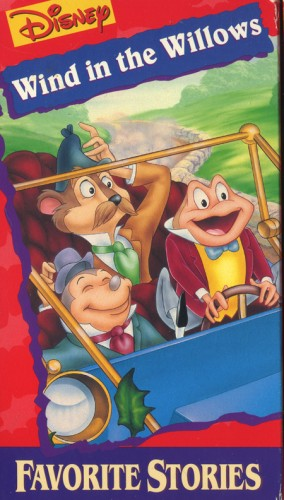 The Wind In The Willows Disney CASSETTE AND VIDEO COR...