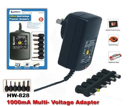 Multi-Voltage-Power-Adapter-1000mA-3v-4-5v-5v-6v-9v-12v-DC-1A-Power-Supply