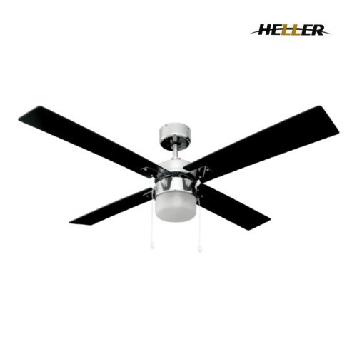 Heller Ceiling Fan With Light And Remote : Heller blade reversible stella ceiling fan with light