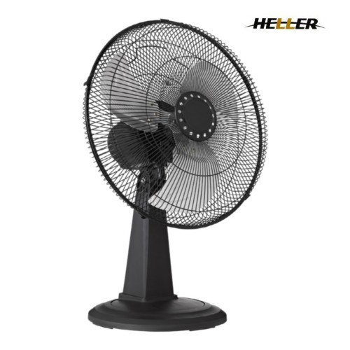 High Velocity Fan Blade : Heller high velocity cm metal blades desk fan bourne