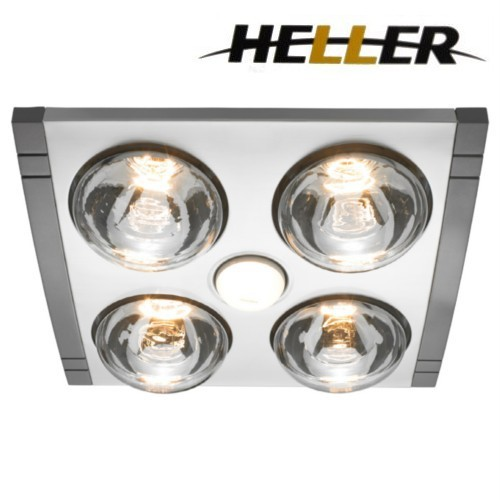 Light And Heater For Bathroom