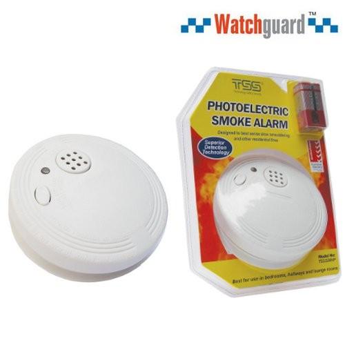 watchguard wireless photoelectric smoke alarm bourne electronics. Black Bedroom Furniture Sets. Home Design Ideas