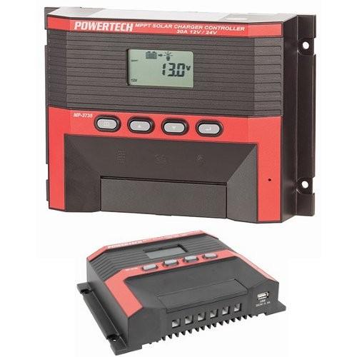 Powertech Mppt Solar Regulator Charge Controller 30a 12