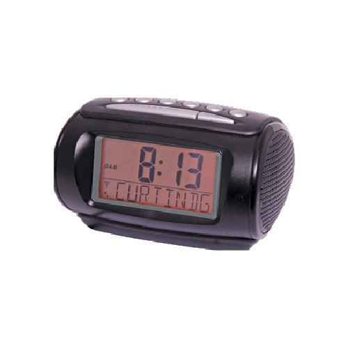 fm radio dab digital radio digital alarm clock new ebay. Black Bedroom Furniture Sets. Home Design Ideas