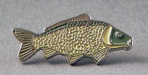common carp fish. 20 X Common Carp Fish Pin