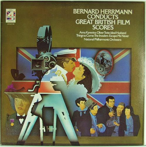 Bernard Herrmann London Philharmonic Orchestra Music From The Great Movie Thrillers